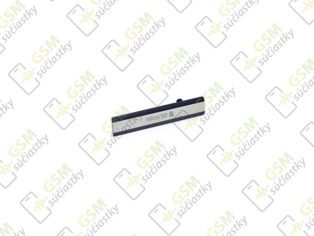 Krytka SD karty Sony Xperia Z2 D6503 čierny kryt SD karty