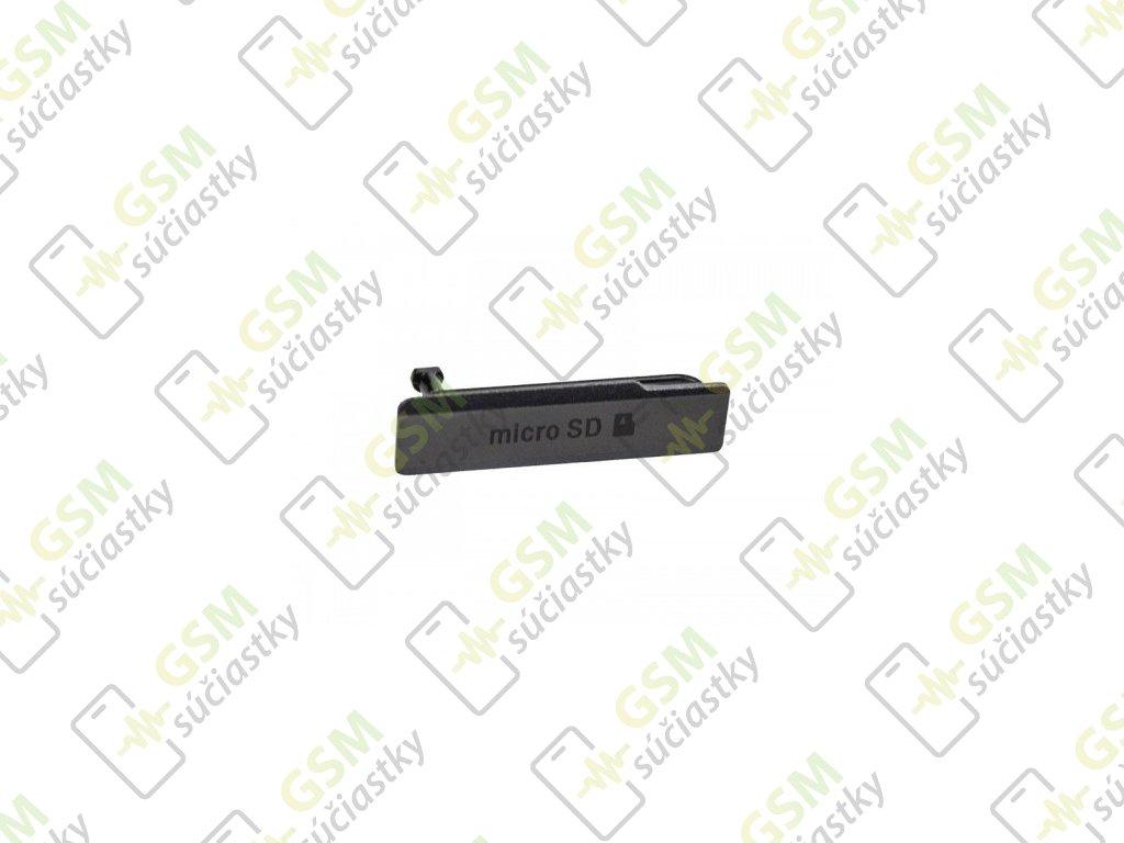 Kryt SD karty Sony D5503 Xperia Z1 compact čierny