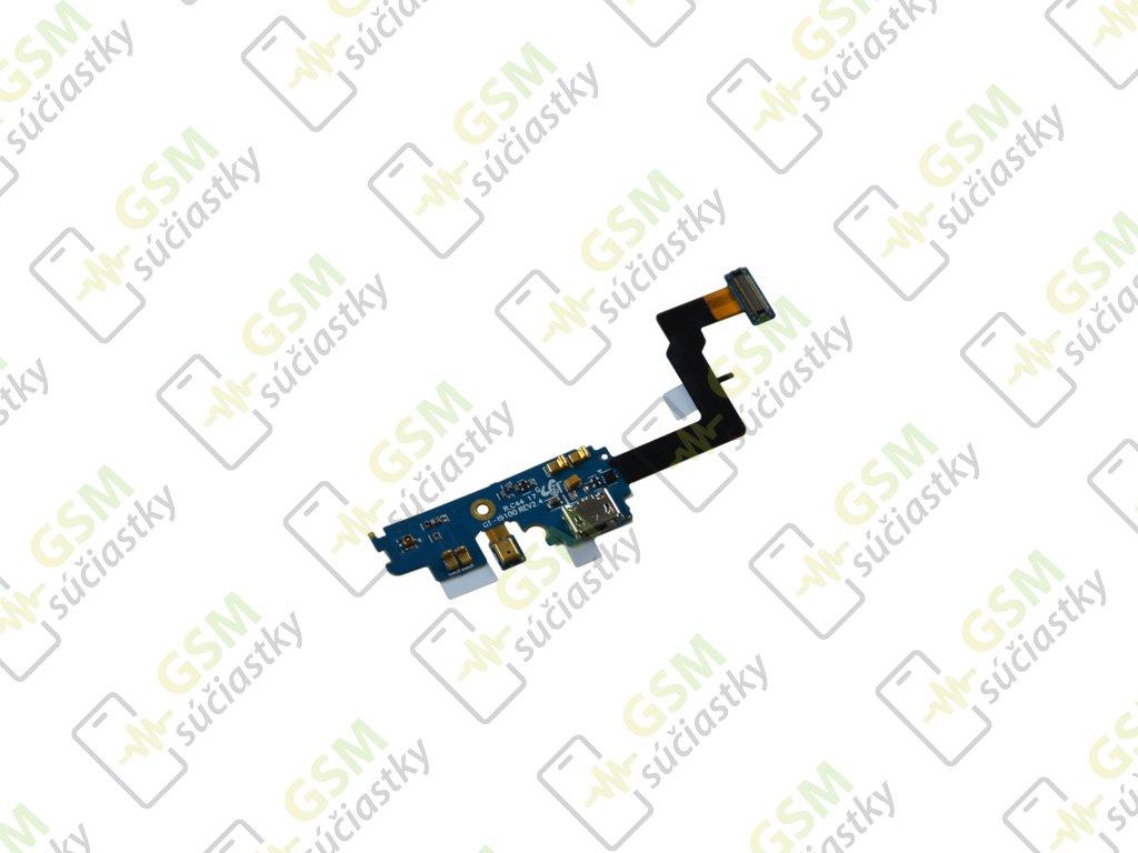 Flex kábel nabíjania Samsung I9100 Galaxy S2 - nabíjací konektor, mikrofón