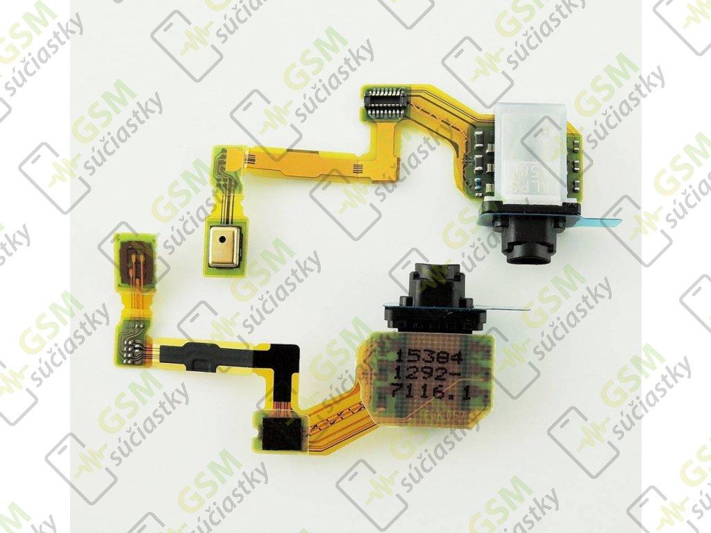 Flex kábel Audio jak konektor Sony Xperia Z5 - vrchný mikrofón