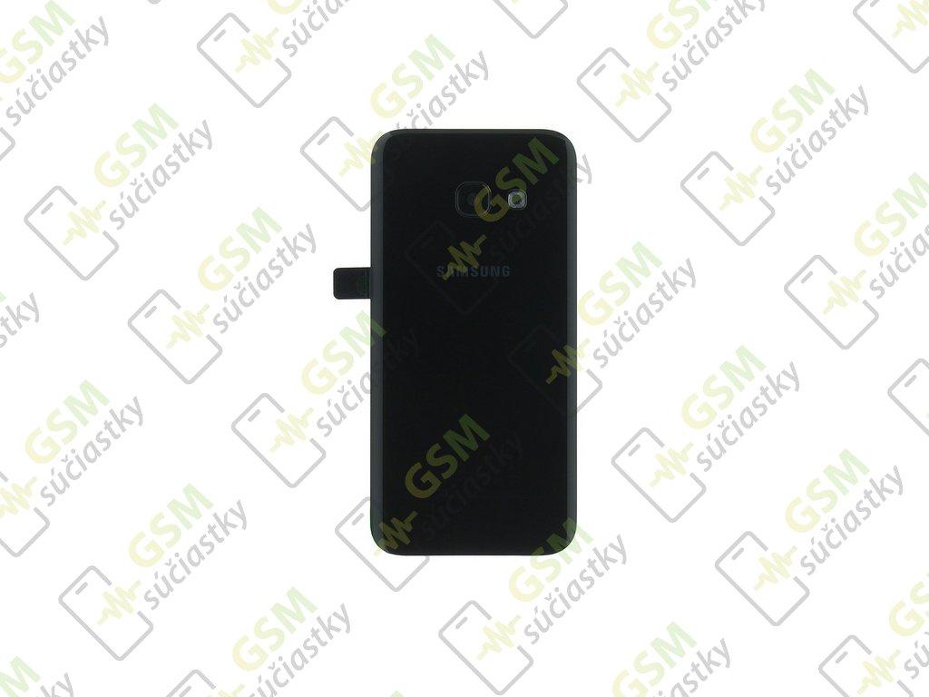 zadný kryt Samsung Galaxy A3 2017 čierny SM A320F