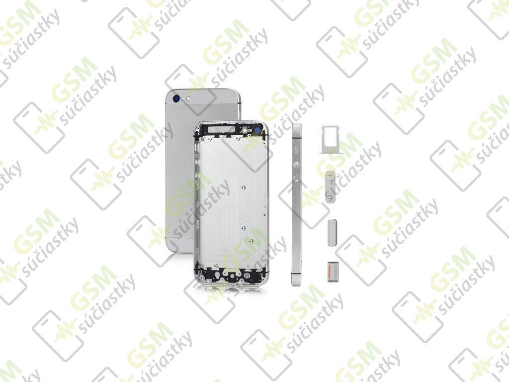 Iphone 5 Baterkový kryt strieborný