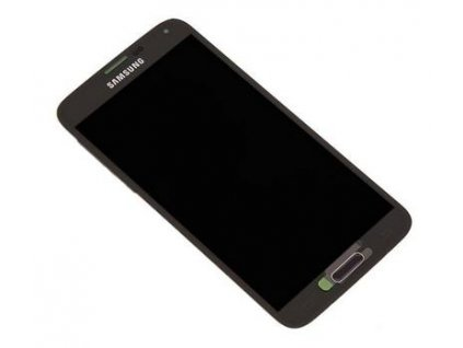 LCD displej Samsung G900 Galaxy S5 - Dotykove sklo zlaté