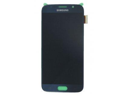 lcd displej Samsung G920 Galaxy S6 dotykové sklo čierne