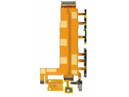 Flex kábel ON/OFF Sony D6603 Xperia Z3 - zapínania, hlasitosti, mikrofón