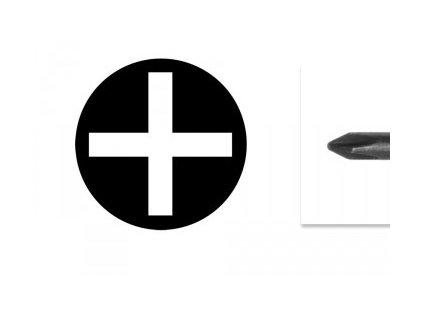 Skrutkovač krížový pre malú elekroniku PH00-1.5