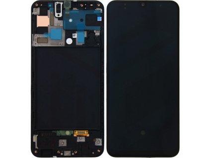 LCD displej Samsung A505 Galaxy A50 a Dotykové sklo