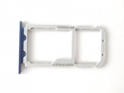 Držiak SIM karty a pamäťovej karty SD Huawei View 10, V10 Slot