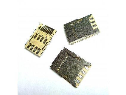 Čítačka SIM karty a SD karty Samsung G900F, G388F, I9301