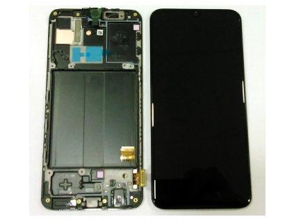 LCD displej Samsung A405 Galaxy A40 a Dotykové sklo