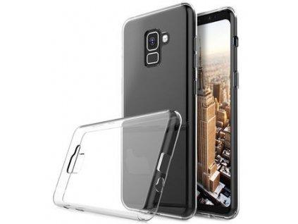 Priesvitné silikónové puzdro na mobil Samsung A530 Galaxy A8 2018