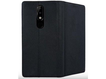 Nokia 5.1 Plus kožené púzdro