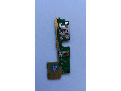 Doska nabíjania Huawei Honor 6A - nabíjací konektor, mikrofón