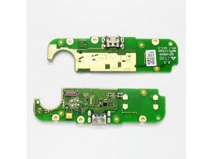 Spodná doska nabíjania Nokia 2 - Flex nabíjací konektor, mikrofón
