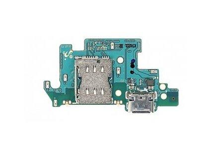 Doska nabíjania Samsung Galaxy A80 - Flex nabíjací konektor, čítač