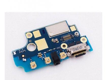 Spodná doska nabíjania Nokia 8 - Flex nabíjací konektor, mikrofón