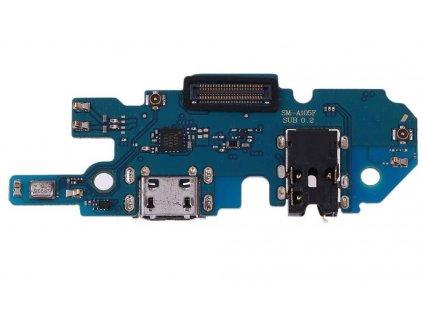 Spodná doska nabíjania Samsung Galaxy A10 - nabíjací konektor, mikrofón
