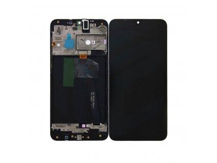 LCD displej Samsung A105F Galaxy A10 Dotykové sklo a Rám