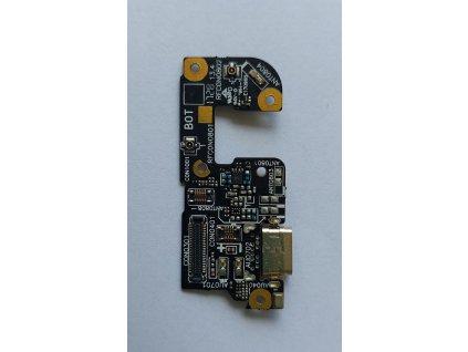 Doska nabíjania Asus ZE554KL Zenfone 4 - nabíjací konektor, mikrofón