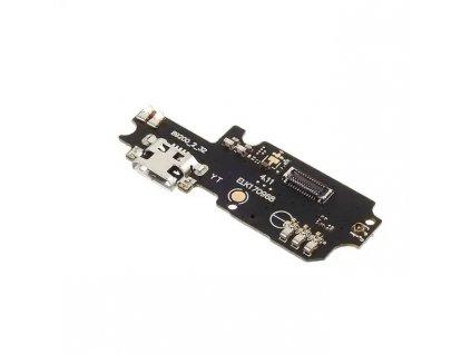 Doska nabíjania Asus ZC553KL ZENFONE 3 MAX - nabíjací konektor, mikrofón