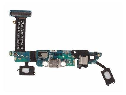 Flex kábel nabíjania Samsung Galaxy S6 G920F a mikrofón