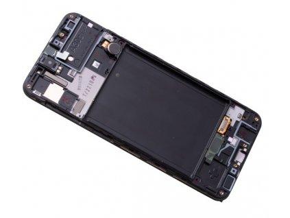 LCD displej Samsung A307 Galaxy A30s Dotykové sklo a Rám