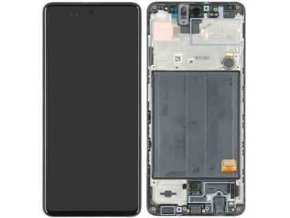 LCD displej Samsung A515 Galaxy A51 Dotykové sklo a Rám
