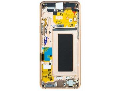 LCD displej Samsung G960F Galaxy S9 Dotykové sklo a Rám