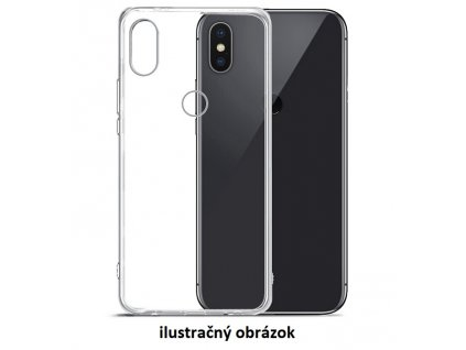 Silikonové priehladné púzdro na mobil Iphone XR