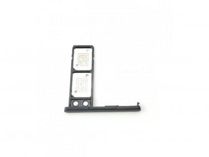 61016 drziak sim karty a pamatovej karty sony xperia l2 h4311 cierna farba