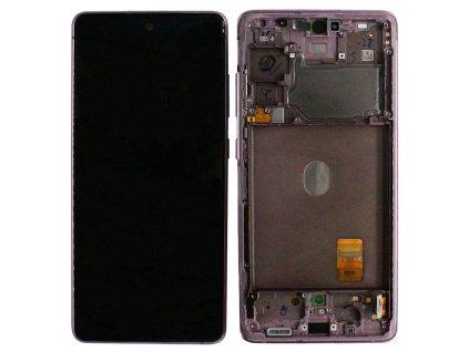 LCD displej Samsung G780 Galaxy S20 FE Dotykové sklo a Rám