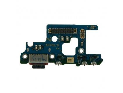 Doska nabíjania Samsung N975 Galaxy Note 10 Plus nabíjací konektor, mikrofón