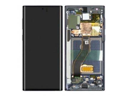 Samsung Galaxy Note 10 LCD displej + Dotykové sklo a Rám