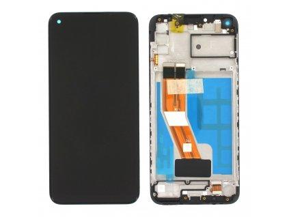 LCD displej + Dotykové sklo a Rám Samsung M115 Galaxy M11 Originál