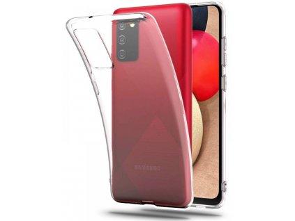 Priesvitné puzdro na mobil Samsung Galaxy A02s, A025