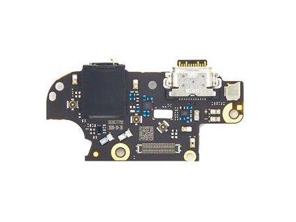 Doska nabíjania Motorola Moto G 5G Plus nabíjací konektor, mikrofón