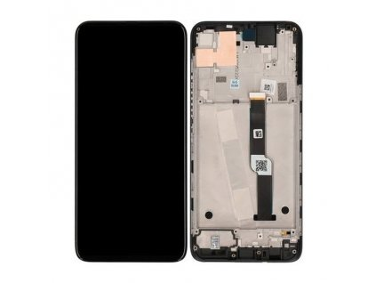 LCD displej + Dotykové sklo Motorola One Fusion Plus + Rám