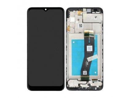 LCD displej + Dotykové sklo a Rám Samsung A025 Galaxy A02s Originál