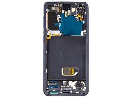 LCD displej + Dotykové sklo a Rám Samsung G991 Galaxy S21 5G Originál