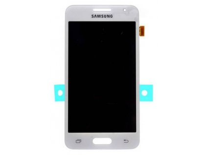 lcd displej Samsung G355 Galaxy Core 2 Dotykové sklo biele
