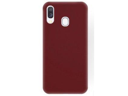 Čierne gumené púzdro na mobil Samsung Galaxy A40, A405