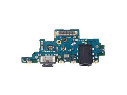 Doska nabíjania Samsung A725 Galaxy A72 - nabíjací konektor, mikrofón