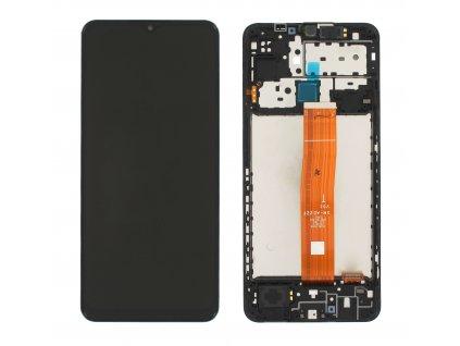 LCD displej + dotykové sklo a Rám Samsung M127F Galaxy M12 Originál