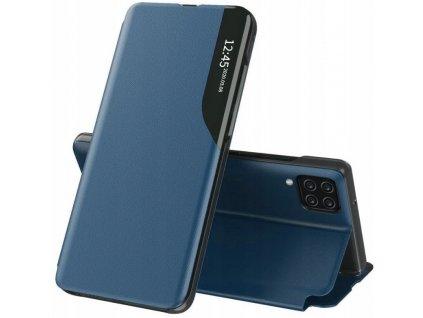Diarové modré púzdro View Samsung Galaxy A12, M12