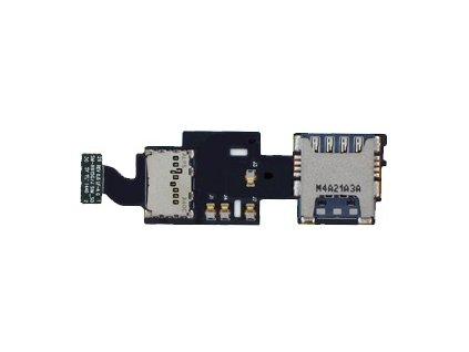 Flex kábel SIM karty a pamäťovej karty SD Samsung N915FY Galaxy Note Edge