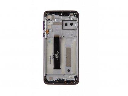 LCD displej + Dotykové sklo a Rám Motorola One Macro Originál čIERNY
