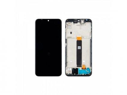 LCD displej + Dotykové sklo a rám Motorola Moto E6 Plus Originál