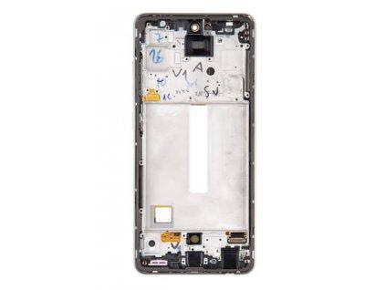 LCD displej + Dotykové sklo a Rám Samsung Galaxy A52, A52 5G Originál