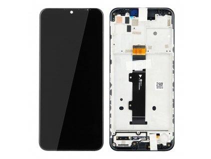 LCD displej + Dotykové sklo a Rám Motorola Moto G20 Originál