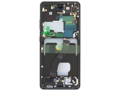 LCD displej + Dotykové sklo a Rám Samsung Galaxy S21 Ultra, G998 Originál